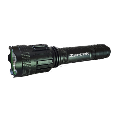 Zartek ZA-415 LED Flashlight USB with Powerbank