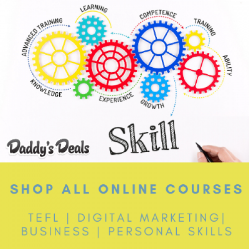 Daddy's Deals online courses!