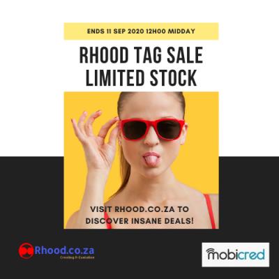 Rhood Tag Sale - Massive Tech Discounts