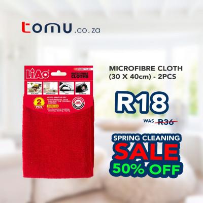 LiAo - Microfiber Cloth (30x40cm) - 2pcs/pack - LAG130018